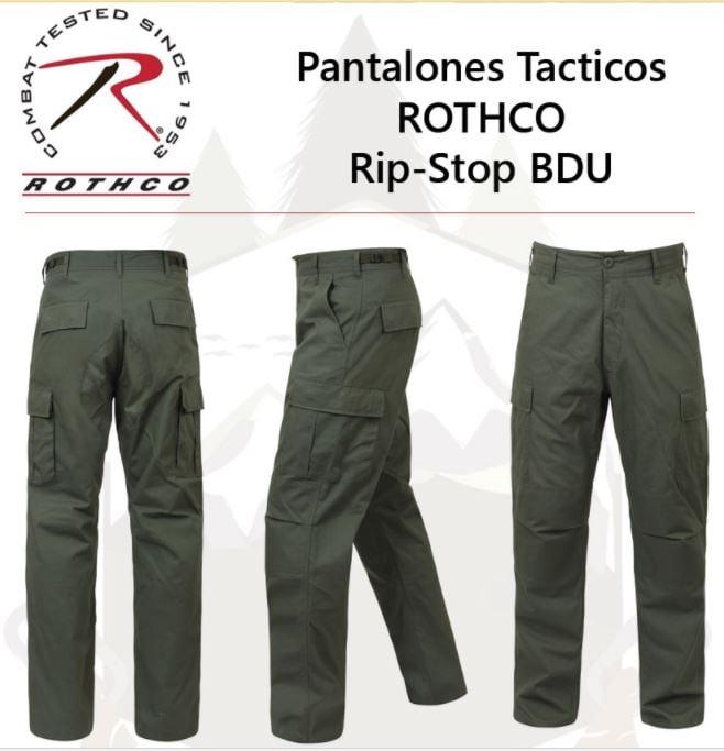 Rothco Pantalon Cargo Bdu Rip Stop 8