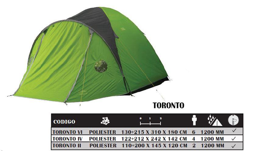 Carpa National Geographic Toronto VI Para 6 Personas 3