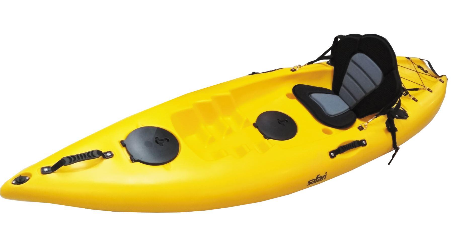 Kayak Wave Fish 1 Persona 2 Posa Caña Remo Safari 3
