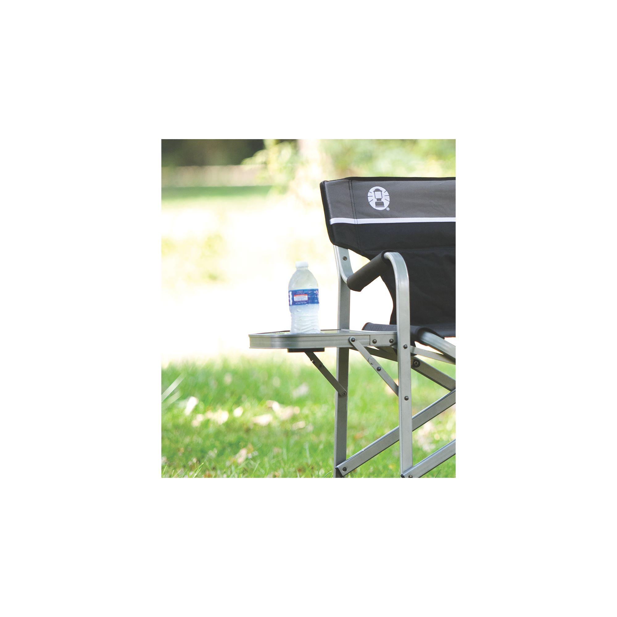 Silla plegable con mesa coleman mesa elbunkker for Mesa plegable sillas incorporadas