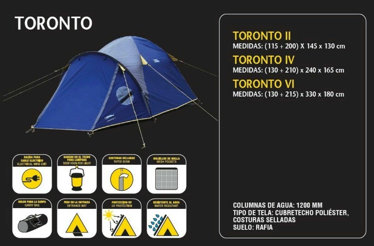 Carpa National Geographic Toronto II con sobretecho 2
