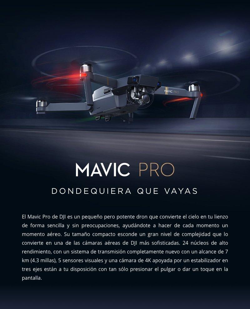 DRONE DJI MAVIC PRO 5