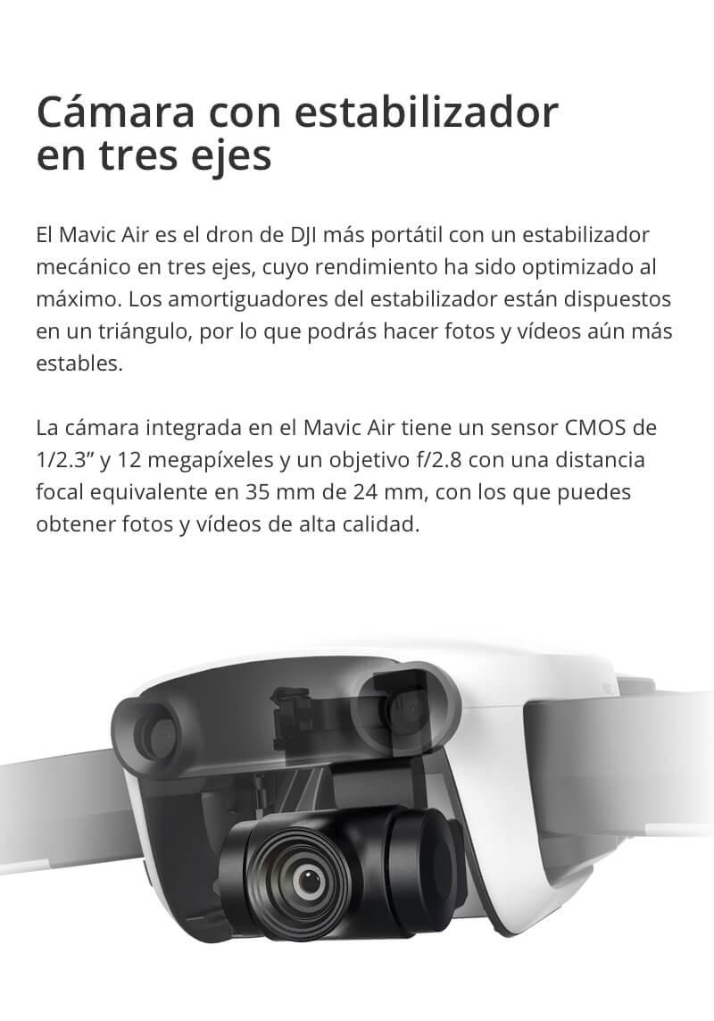 Drone DJI Mavic Air Fly More Combo 25