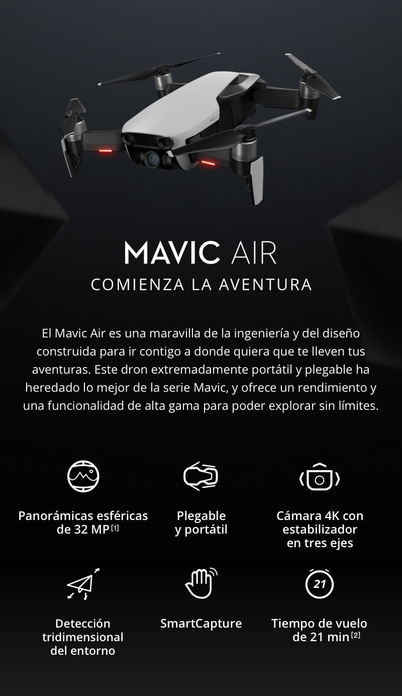 Drone DJI Mavic Air Fly More Combo - ElBunkker