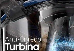 Aspiradora Con Turbina Anti-Enredo 2100 Watts Azul Samsung 5