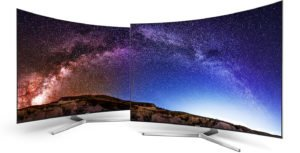 "Televisor QLED SMART TV 55"" SUHD 4K CURVED SAMSUNG 25"