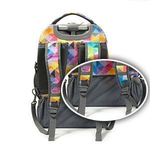 """Mochila""""Tilami Rolling Backpack Armor"""" Multifuncion con ruedas y manija 14"""