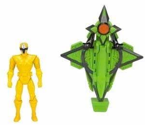 Power Rangers Mega Morph de Acero Ninja Copter 19