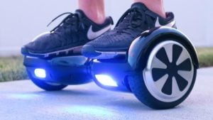 """Patineta Electrica Hoverboard 10"""" BT con Parlante Bluethoot Luces 5"""