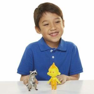Set de Figuras de Los Increibles Jack-Jack y Raccoon Multicolor, Talla única 6