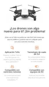 DJI TELLO - El Drone con Mayor cantidad de Funciones para un Mejor Entretenimiento 4