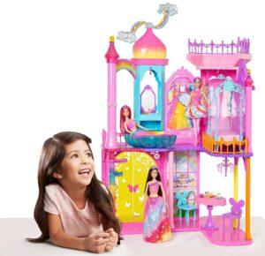 BARBIE - Reino de Arcoíris Castillo Mágico Rainbow 10