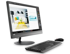 """Lenovo IdeaCentre AIO 520-22IKL Intel® Core™ i3-7100T (22"""") - Color Silver 21"""