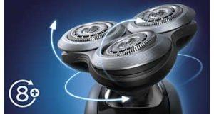 Afeitadora eléctrica Philips Shaver Serie 9000 Sensotouch para uso en Seco y Humedo 16