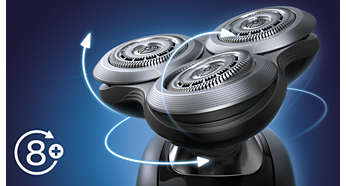 Afeitadora eléctrica Philips Shaver Serie 9000 Sensotouch para uso ... dfc6b77ccd22