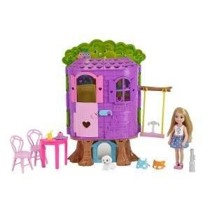 BARBIE - Chelsea Casa del Árbol Mattel 12