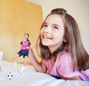Barbie Muñeca Movimientos Deportivos Ultra Flexible Fútbol 12