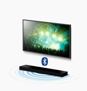 Samsung - Barra de sonido inalámbrica 2.2 con Potencia 80W funciones controladas desde tu Movil 7