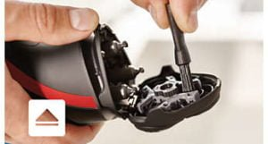Afeitadora rotativa y eléctrica en Seco Modelo Shaver Serie 1000 - Philips 11
