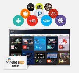 "LED SMART TV SAMSUNG 32"" HD Plano Serie 4 12"