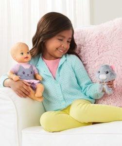 LITTLE MOMMY - Bebita con Mascota 19