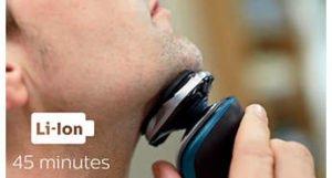 Philips AquaTouch Afeitadora Eléctrica para Uso en Seco y Húmedo 35