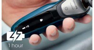 Philips AquaTouch Afeitadora Eléctrica para Uso en Seco y Húmedo 36