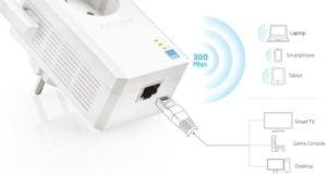 Extensor de alcance inalámbrico TP-LINK TL-WA860RE 300mbps 11