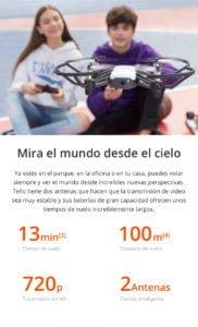 DJI TELLO - El Drone con Mayor cantidad de Funciones para un Mejor Entretenimiento 5