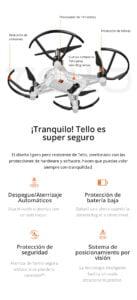 DJI TELLO - El Drone con Mayor cantidad de Funciones para un Mejor Entretenimiento 8