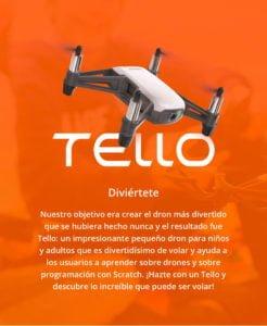 DJI TELLO - El Drone con Mayor cantidad de Funciones para un Mejor Entretenimiento 3