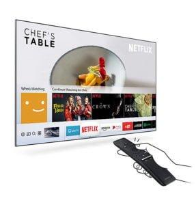 "Televisor LED SMART TV SAMSUNG Flat Smart 4K UHD de 75"" 30"