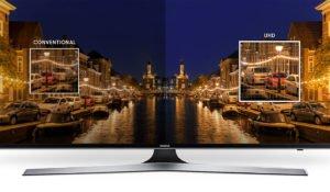 "Televisor LED SMART TV SAMSUNG Flat Smart 4K UHD de 75"" 24"