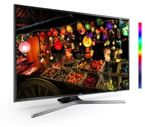 "Televisor LED SMART TV SAMSUNG Flat Smart 4K UHD de 75"" 25"