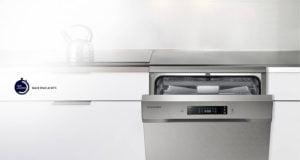 Lavavajillas Samsung con consumo de agua inferior a 12 Litros color Blanco 10