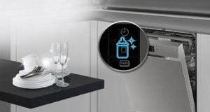 Lavavajillas Samsung con consumo de agua inferior a 12 Litros color Blanco 11