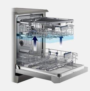 Lavavajillas Samsung con consumo de agua inferior a 12 Litros color Blanco 15