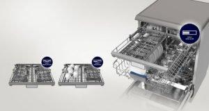 Lavavajillas Samsung con consumo de agua inferior a 12 Litros color Blanco 12