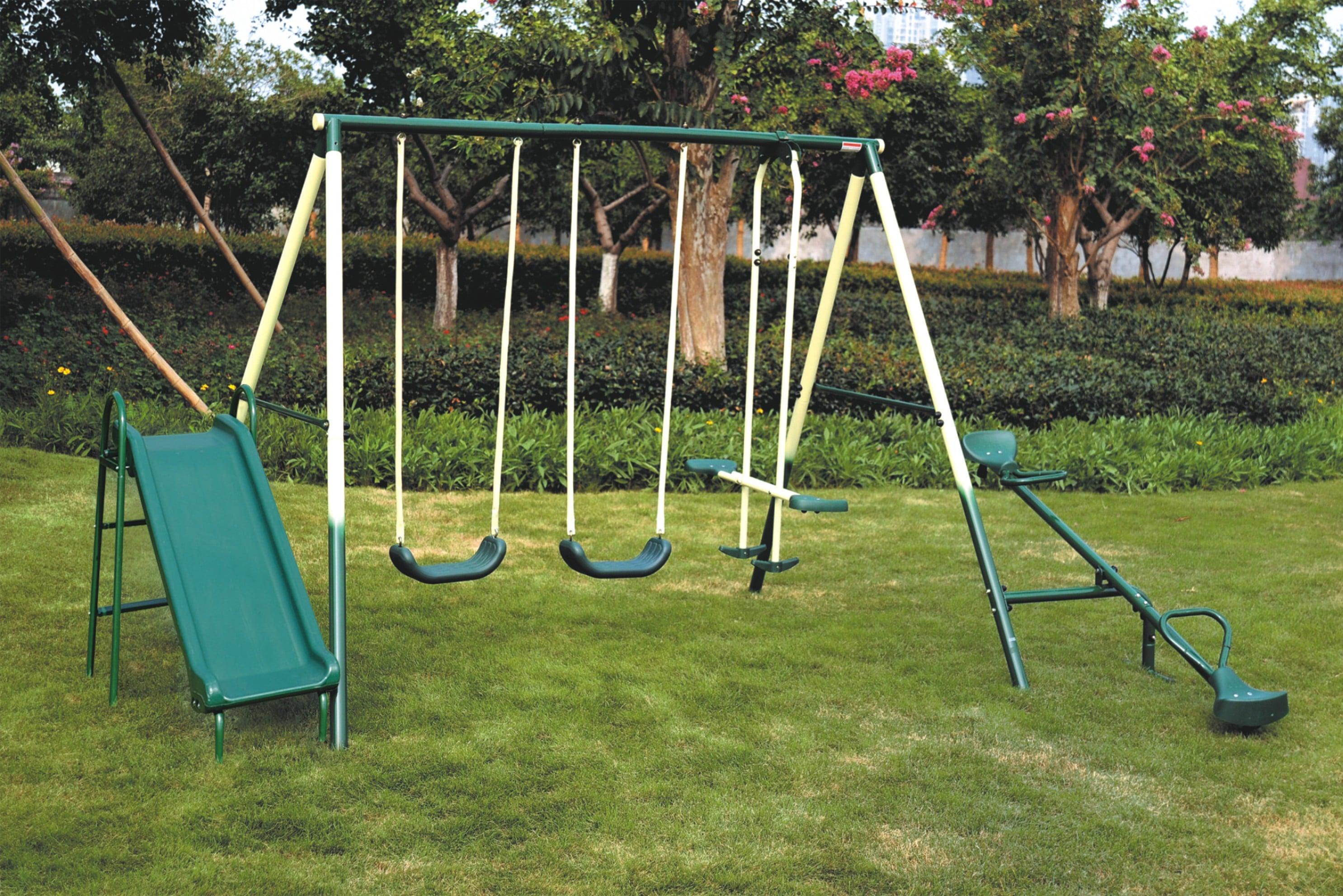Set 5 En 1 De Juegos Infantiles Para Jardin Elbunkker