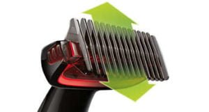Afeitadora Corporal Philips Bodygroom Series 1000 Recorta el vello y Cuida tu Piel 12