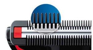 Afeitadora Corporal Philips Bodygroom Series 1000 Recorta el vello y Cuida tu Piel 11