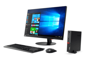MINI PC LENOVO THINKCENTRE M710 TINY I3-7100T/4GB/128GB SSD 13