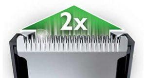 Philips Corta cabellos 12 posiciones Hairclipper Series 5000 12
