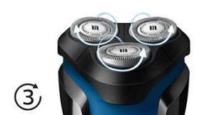 Afeitadora Eléctrica Philips AquaTouch Serie 1000 para Uso en Seco y Húmedo 26