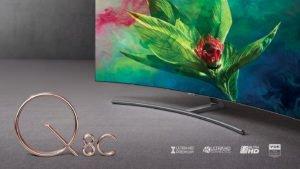 """QLED SMART TV SAMSUNG 65""""UHD 4K CURVED Sumérgete en una curva perfecta 47"""