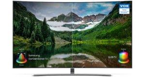 """QLED SMART TV SAMSUNG 65""""UHD 4K CURVED Sumérgete en una curva perfecta 48"""