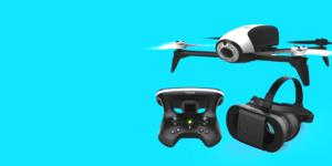 DRONE PARROT BEBOP 2 FPV PACK WHITE 7