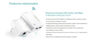 POWERLINE TP-LINK WPA4220T X3 STARTER KT 24