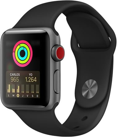 Reloj Apple SmartWatch MTF02LL/A Series 3 7