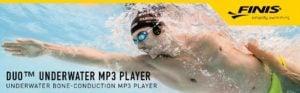 Duo ™ REPRODUCTOR MP3 SUMERGIBLE de conducción ósea bajo el agua - FINIS 10